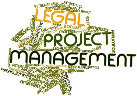 increasingly: Word cloud astratto per la gestione dei progetti legale con tag correlati e termini