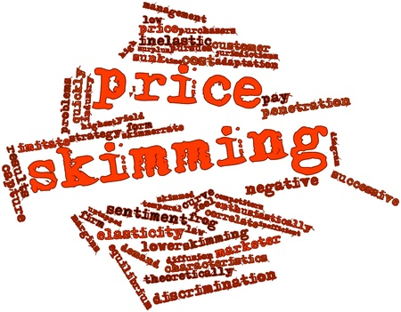 penetration: Abstract word cloud for Price skimming with related tags and terms