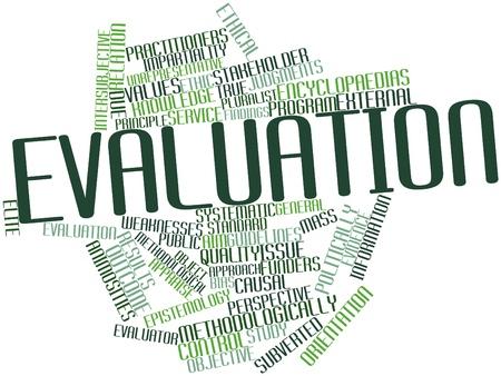 evaluacion: Nube de palabras Resumen de Evaluación con las etiquetas y términos relacionados