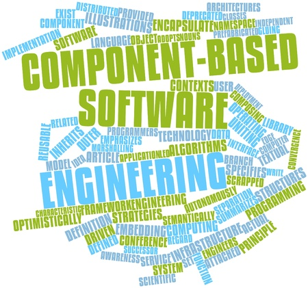 predecessor: Abstract word cloud for Component-based software engineering with related tags and terms