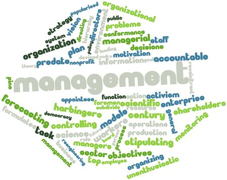 devised: Abstract word cloud for Management with related tags and terms