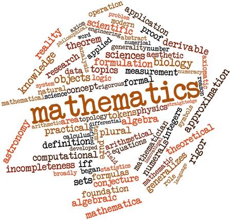 logica: Nube de palabras Resumen de Matemáticas con etiquetas y términos relacionados