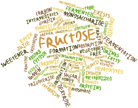 sweetener: Abstract word cloud for Fructose with related tags and terms