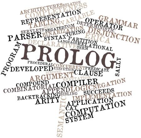 関連タグと用語のプロローグの抽象的な単語の雲 写真素材 - 16414357