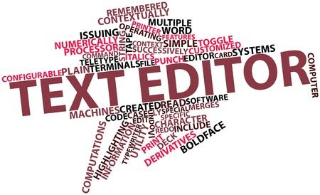 arbitrario: Nube palabra abstracta para editor de texto con las etiquetas y términos relacionados