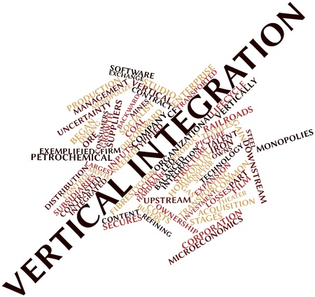 transported: Abstract word cloud for Vertical integration with related tags and terms