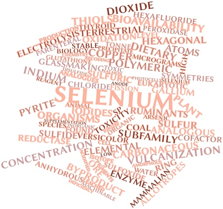 supplementation: Abstract word cloud for Selenium with related tags and terms