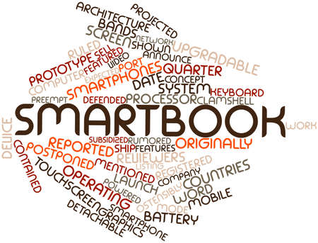 detachable: Abstract word cloud for Smartbook with related tags and terms