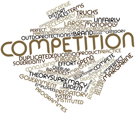 deemed: Abstract word cloud for Competition with related tags and terms