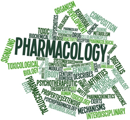 Abstract word cloud for Pharmacology with related tags and terms Stock Photo - 16414139