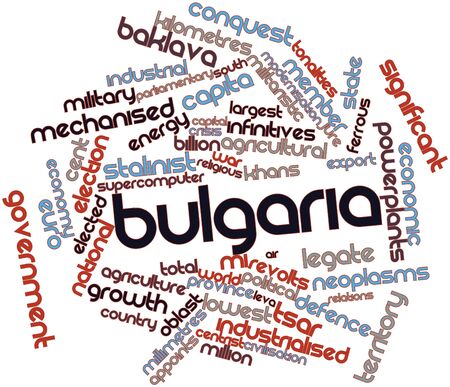 gained: Abstract word cloud for Bulgaria with related tags and terms