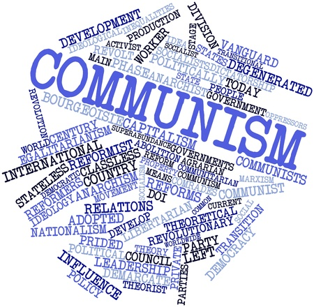 Abstract word cloud for Communism with related tags and terms Stock Photo - 16446050