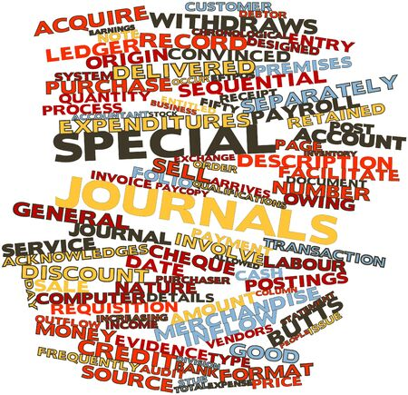 outflow: Abstract word cloud for Special journals with related tags and terms