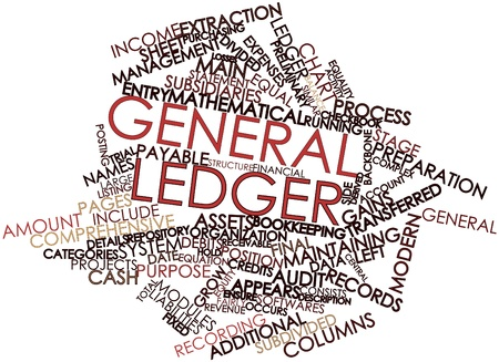 occurs: Abstract word cloud for General ledger with related tags and terms