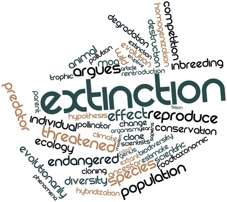 hybridization: Abstract word cloud for Extinction with related tags and terms