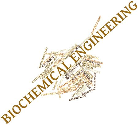 Abstract word cloud for Biochemical engineering with related tags and terms Stock Photo - 16499469