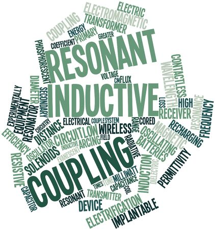 radiative: Abstract word cloud for Resonant inductive coupling with related tags and terms