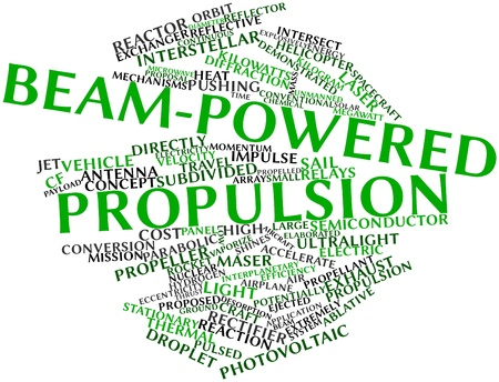 propellant: Abstract word cloud for Beam-powered propulsion with related tags and terms