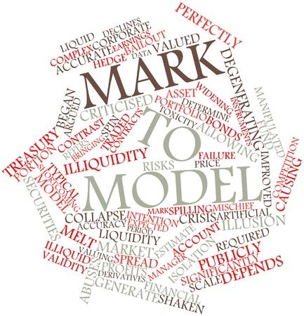 validez: Nube de palabras abstracto de Mark para modelar con las etiquetas y términos relacionados