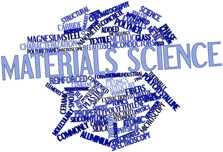 Abstract word cloud for Materials science with related tags and terms Stock Photo - 16500428