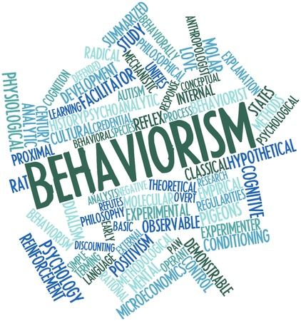 radical love: Abstract word cloud for Behaviorism with related tags and terms