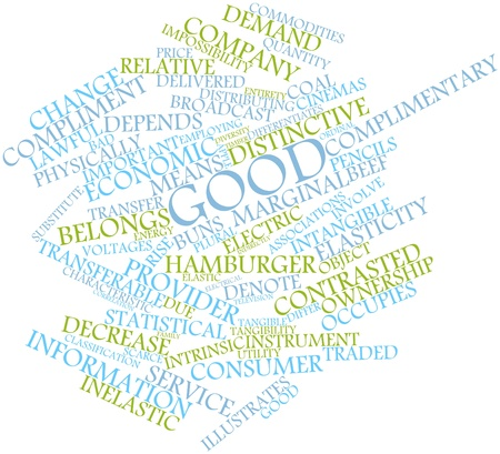 Abstract word cloud for Good with related tags and terms 版權商用圖片