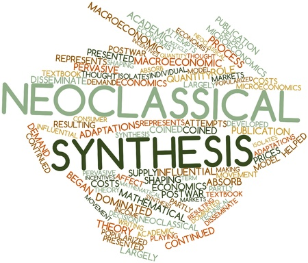 neoclassical: Abstract word cloud for Neoclassical synthesis with related tags and terms