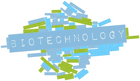 organelles: Abstract word cloud for Biotechnology with related tags and terms