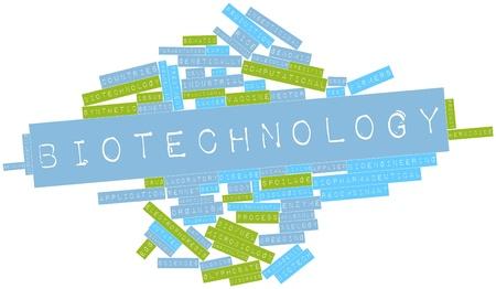 recombinant: Word cloud astratto per Biotecnologie con tag correlati e termini
