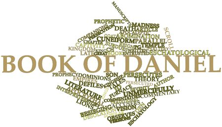Abstract word cloud for Book of Daniel with related tags and terms Stock Photo - 16501412