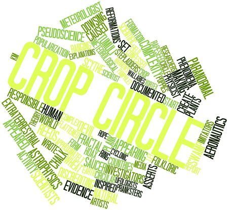 crop circle: Abstract word cloud for Crop circle with related tags and terms