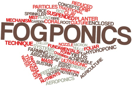 achievable: Abstract word cloud for Fogponics with related tags and terms