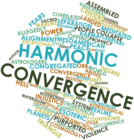 convergence: Abstract word cloud for Harmonic Convergence with related tags and terms