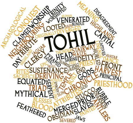 ruling: Abstract word cloud for Tohil with related tags and terms