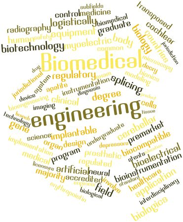 Abstract word cloud for Biomedical engineering with related tags and terms Stock Photo - 16528328