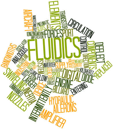 unreliable: Abstract word cloud for Fluidics with related tags and terms