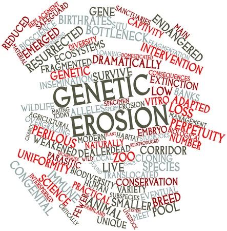 関連するタグと用語遺伝的浸食の抽象的な単語雲 写真素材
