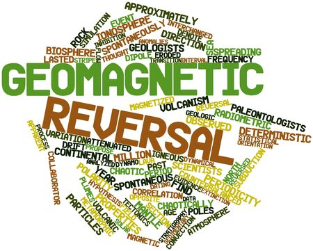 lasted: Abstract word cloud for Geomagnetic reversal with related tags and terms