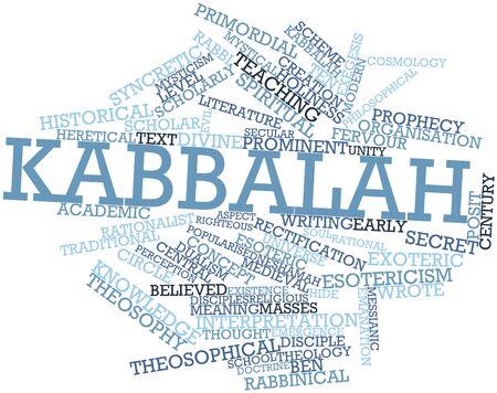 kabbalah: Abstract word cloud for Kabbalah with related tags and terms