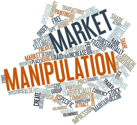 share market: Abstract word cloud for Market manipulation with related tags and terms