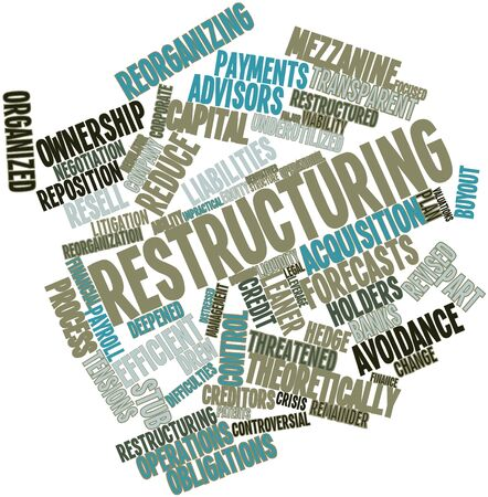 patents: Abstract word cloud for Restructuring with related tags and terms