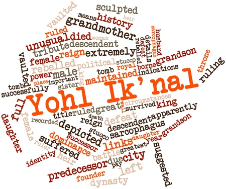 Abstract word cloud for Yohl Ik'nal with related tags and terms Stock Photo - 16529698