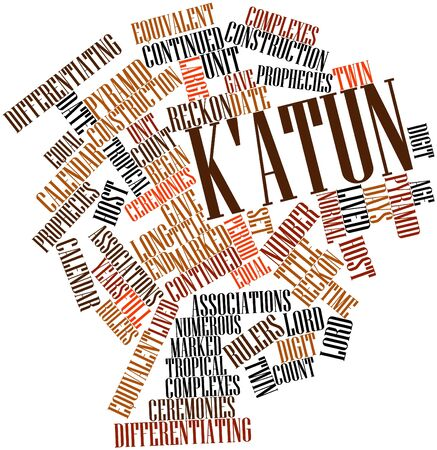 long lived: Abstract word cloud for Katun with related tags and terms