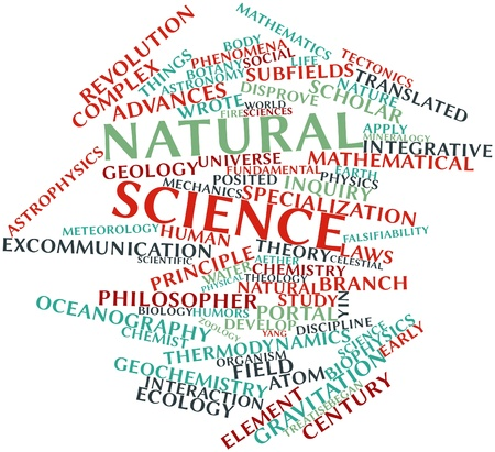 Abstract word cloud for Natural science with related tags and terms Stock Photo - 16529645