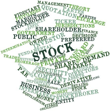 hipotesis: Nube palabra abstracta para Stock con etiquetas relacionadas y los t�rminos Foto de archivo