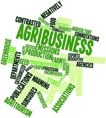 categorized: Abstract word cloud for Agribusiness with related tags and terms