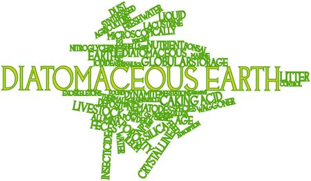 porosity: Abstract word cloud for Diatomaceous earth with related tags and terms
