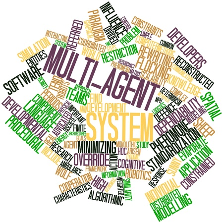 response time: Abstract word cloud for Multi-agent system with related tags and terms