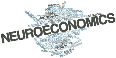 experimenter: Abstract word cloud for Neuroeconomics with related tags and terms
