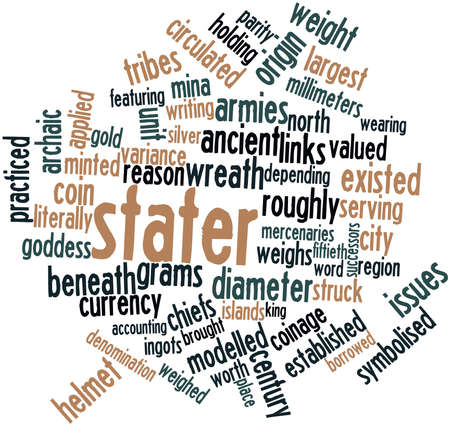 Abstract word cloud for Stater with related tags and terms Stock Photo - 16529215